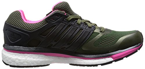 Adidas, Supernova Glide 6 W, Scarpe sportive, Donna Nero-Verde