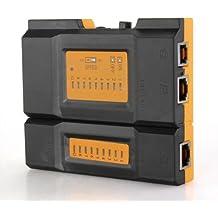 Tester Comprobador Cable RJ45 RJ11 Network Ethernet LAN DC 9V