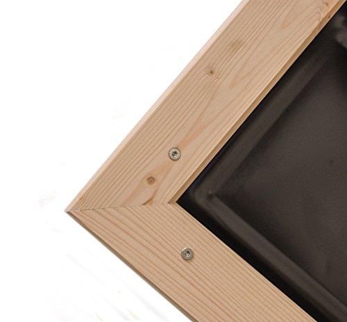 myowngreen Hochbeet 78 x 42 x 71 cm (LxBxH) aus Fichtenholz mit Montage – Kräuterhochbeet – Gemüsehochbeet – Blumenhochbeet – komplett montiert für Terrasse, Balkon