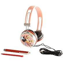 "Headset Kopfhörer ""Disney Minnie Mouse Sweeties"" für Nintendo DS Lite i XL 3DS, Sony PSP Vita, PC, MP3"