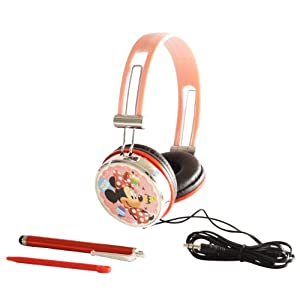 "Headset Kopfhörer ""Disney Minnie Mouse Sweeties"" für Nintendo DS Lite i XL 3DS, Sony PSP Vita, PC, MP3"