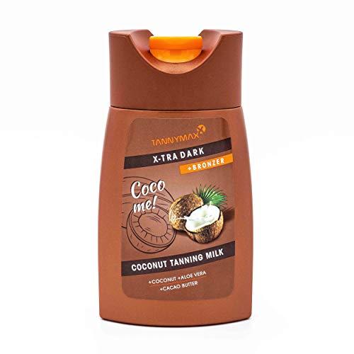 Tannymaxx Xtra Dark Coconut Bronzing Milk, 1er Pack (1 x 200 ml) -
