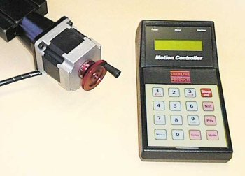 CNC linear controller w/ stepper motor and mount by Sherline