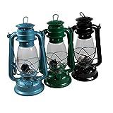 Lanterna di grandi dimensioni, di 30cm, lanterna resistente, stile nostalgico, lanterna da campeggio, lampada a olio
