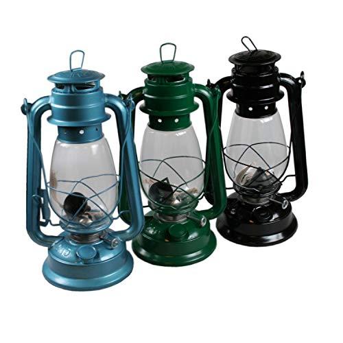 XL 30cm Nostalgie Sturmlaterne Sturmlampe Campinglampe Petroleumlampe Öllampe Laterne