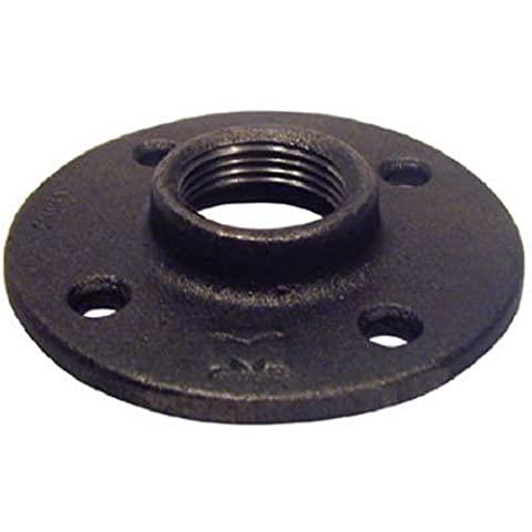 Pannext Fittings B-Flf07 3/4 Blk Floor Flange Black Pipe, Misc. Fittings by Pannext Fittings