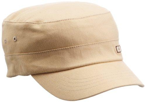Kangol Herren Cotton Twill Army Cap Kappe, Beige, Herstellergröße:Large/X-Large Twill-kappe