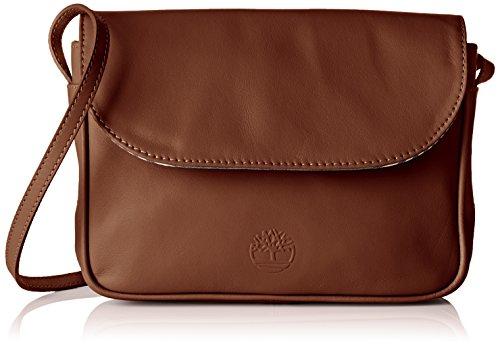 Timberland Damen Tb0a1g3f Umhängetasche, 5x15x23 cm Braun (Brown)