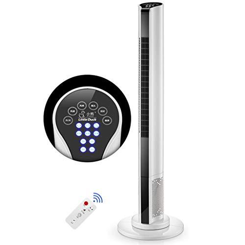 Ventilateur Tour Ventilateur Colonne Avec Télécommande,ventilateur Tour Silencieux Oscillant,ventilateur Colonne Climatiseur,Minuteur 15H,3 Vitesses,3 Modes,Oscillation À 60°