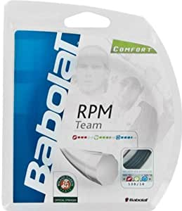Babolat RPM Team Black Tennis String 12m Set (1 x 1.25mm/17G)