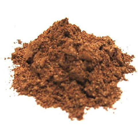 Flashing Bronze - Intermitente Bronce Mica en polvo, bronce metálico en polvo, Cosmética Mica, Rebanada de la Luna, Por Labial, Esmalte de Uñas, bombas de baño y cosméticos