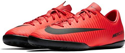 Nike Unisex-Kinder Jr. Mercurial Vapor XI IC Fußballschuhe, Mehrfarbig (University Red/Black-Bright CR), 38.5 EU (Fußball Schuhe Nike Mercurial Kinder)