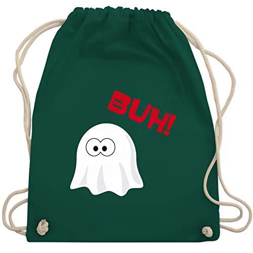 Halloween - Kleiner Geist Buh süß - Unisize - Dunkelgrün - WM110 - Turnbeutel & Gym Bag