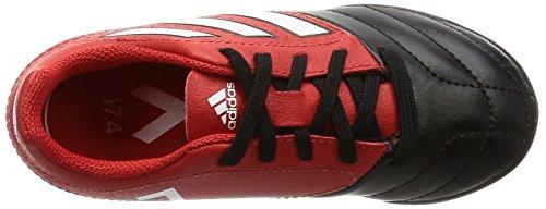 adidas Ace 17.4 Tf J, Chaussures de Football Entrainement garçon Rosso (Rojo/Ftwbla/Negbas)