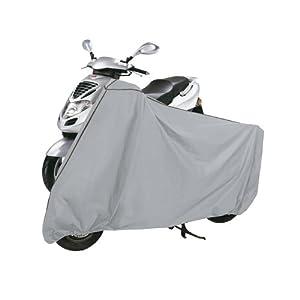 seguro motos: Rayen 6379.50 - Funda de PVA para motos, 140 x 136 x 78 centímetros, color gris
