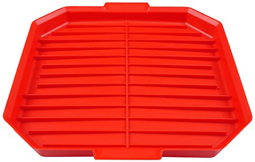 good2heat Microwave Bacon Crisper - Red