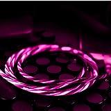 LED Illuminare Il Cavo Del Fulmine Per Iphone X/8/8 Plus/7/7 Plus/6/6 Plus/6S/6S Plus/5/5S/5C/Se/Ipad/Ipod/XS/XS Max,Pink
