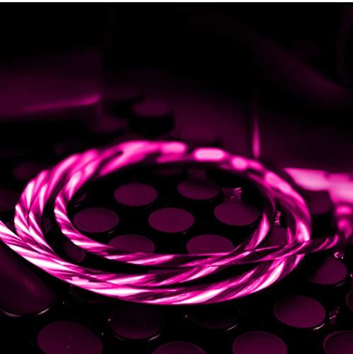 LED Leuchtet Blitzkabel Für Iphone X/8/8 Plus/7/7 Plus/6/6 Plus/6S/6S Plus/5/5S/5C/SE/Ipad/Ipod/XS/XS Max,Pink