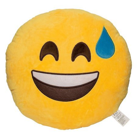 Aaf-Textiles-Brand-soft-emoticon-round-yellow-cushion-pillow