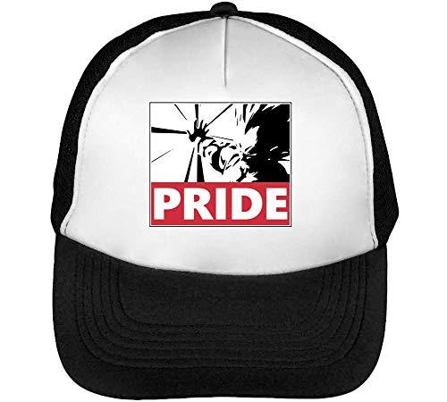 Imagen de dragon ball z vegeta pride  hombre snapback beisbol negro blanco one size