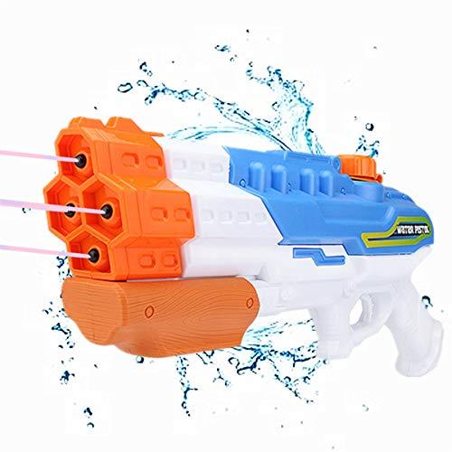 Wasserpistole, 4 Düsen, Wassersprühpistole, 1200 cc, 9,1