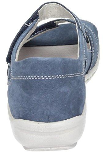 Waldläufer 710721 Damen Sandalette Weite H, blau blau