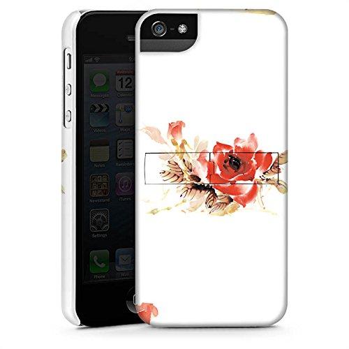 Apple iPhone X Silikon Hülle Case Schutzhülle Blume Muster Bunt Premium Case StandUp