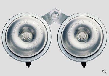 Preisvergleich Produktbild Stebel HF80/2 24V elektromagnetisches Doppel / Hupe