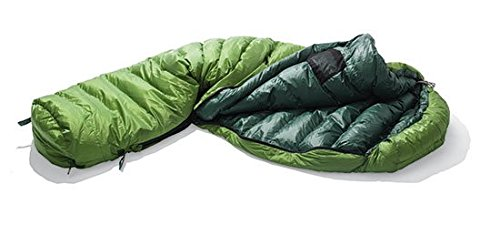 YETI Gecco 400Sacco a Pelo Piumino, Treetop/Dark Green, XL