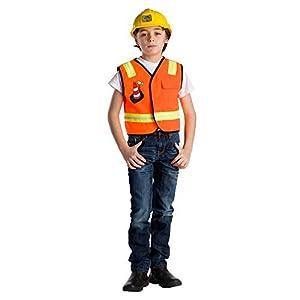 Viste a América - 836 - Conjunto de Trabajador de la construcción - 3-6 años - Talla única - Niños 3-6 años - Multicolor