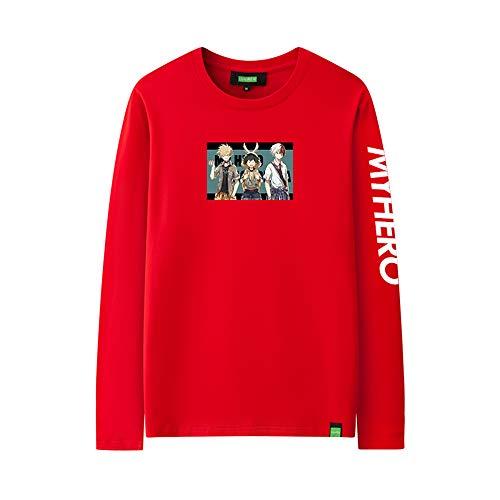 I TRUE ME Boku No Hero Academia My Hero Academia Crewneck Sweatshirt Hoodie Cosplay Anime Hoodie - Red Toga Kostüm