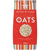 Delicious Alchemy Gluten and Dairy Free Oats 450 g (Pack of 3)