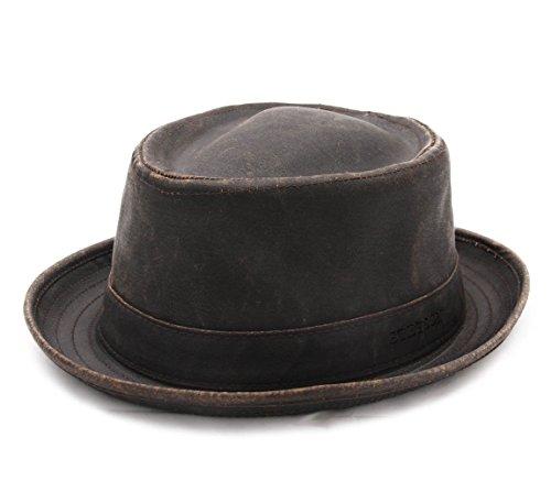 Stetson - Chapeau porkpie homme odenton - Taille L