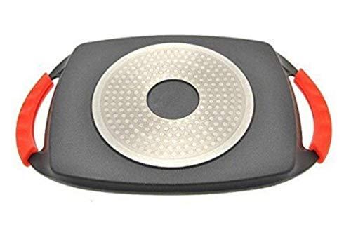 4.5 Litri Alluminio H/&H Ex Chef Fus Antiaderente Granchef Cm20 Pentole E Preparazione Cucina Nero