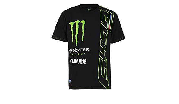 Monster Tech3 18T3M ACT2 XXL, T Shirt Uomo, NeroVerde, FR : 2XL (Taille Fabricant : XXL)
