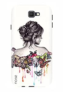 Noise Designer Printed Case / Cover for Samsung Galaxy On8 / Patterns & Ethnic / Butterflies Design
