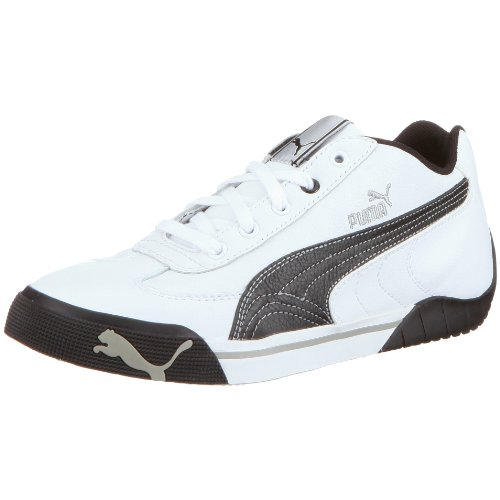 PUMA Speed Cat 2.9 Lo Jr 302866, Unisex - Kinder, Sportschuhe - Outdoor, Weiss  (white-black 05), EU 36  (UK 3.5)  (US 4.5) (Cat Weiß Herren Speed)