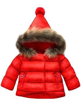Overdose Baby Jungen Mädchen Baumwolle Daunenjacke Steppjacke daunenmantel Winterjacke Winter Mantel Daunenjacke...