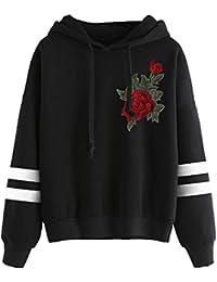 c1629b2cfd4f HLHN Damen Kapuzenpullover Herbst Winter Jacke Hooded Kapuzen Pullover  Sweatshirts