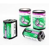 Four rolls of Fuji Nexia 25 exposure APS film