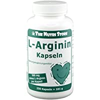 L-arginin 500 mg Kapseln 250 stk preisvergleich bei billige-tabletten.eu