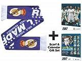 Real Madrid (La Liga) 2017 Soccer Calendar & Scarf Gift Set