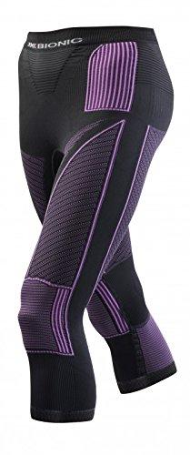 X-Bionic Erwachsene Funktionsbekleidung Lady Acc Evo UW Pants Medium, Charcoal/Fuchsia, S/M, I020242