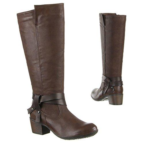 Damen Schuhe, LX02334, STIEFEL Braun