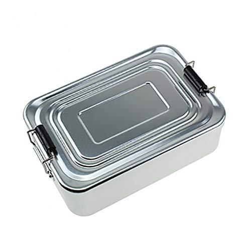 WUCANHE 1000 Ml Aluminium Lunch Box Tragbare Lebensmittel Obst Snack Storage Container Student Erwachsene Bento Box Für Outdoor Camping Picknick -