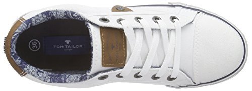 Tom Tailor 9670902, Baskets Basses garçon Blanc