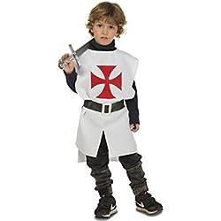 Viving Costumes Disfraz Peto Medieval Blanco 3-6 A, Multicolor (203789)