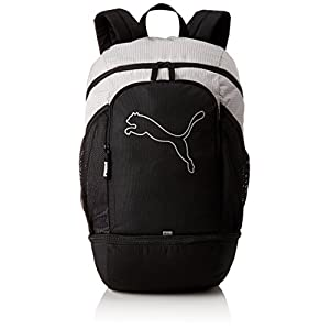 419DheyfKIL. SS300  - Puma Uni Echo Special Backpack Mochila, Black White de Anti-Reflective, OSFA