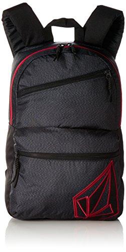 Volcom Unisex-Erwachsene Academy Backpack Rucksack, (Stealth), 14x30x45 cm (Volcom Rucksack Leichter)