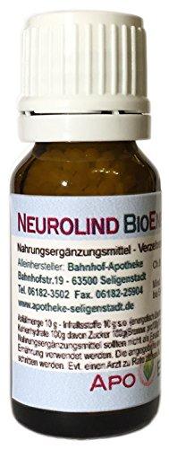 Neurolind BioEnerg Globuli mit Vitamin C - 10 g - Nerven - aus deutscher Traditionsapotheke